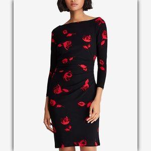 Lauren Ralph Lauren Floral Printed Jersey Dress